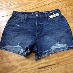 New WITH tags, Hollister Mom shorts
